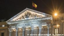 Spanien Madrid Parlament (picture-alliance/dpa/R. B. Fishman)