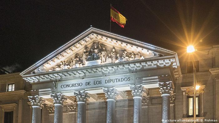 Spanien Madrid Parlament (picture-alliance/dpa/R. B. Fishman)