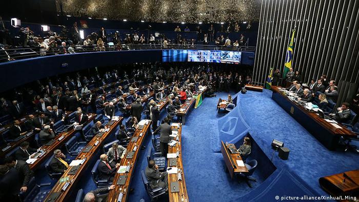 Brasilien Amtsenthebungsverfahren Dilma Rousseff Parlament