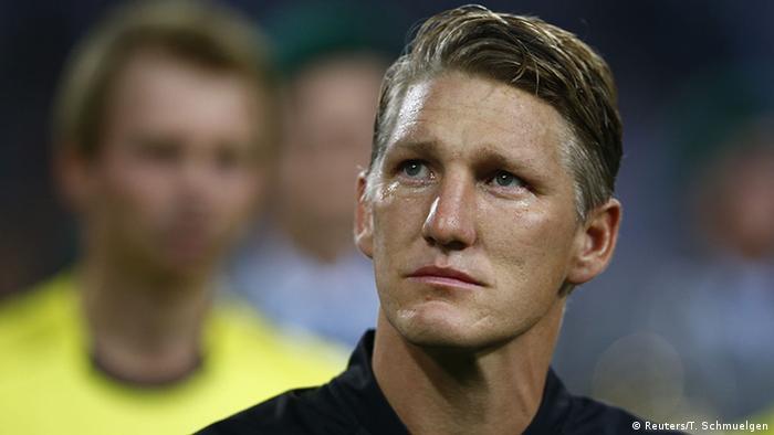 Freundschaftsspiel Deutschland Finnland Bastian Schweinsteiger Tränen
