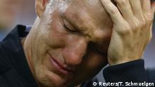 August 31, 2016+++++++++Germany v Finland - Soccer Friendly Football Soccer - Germany v Finland - Soccer Friendly - Moenchengladbach, Germany - 31/08/16. Germany's Bastian Schweinsteiger before the match. REUTERS/Thilo Schmuelgen (c) Reuters/T. Schmuelgen
