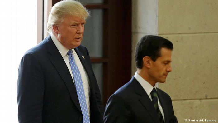 USA Mexiko Donald Trump mit Enrique Pena Nieto