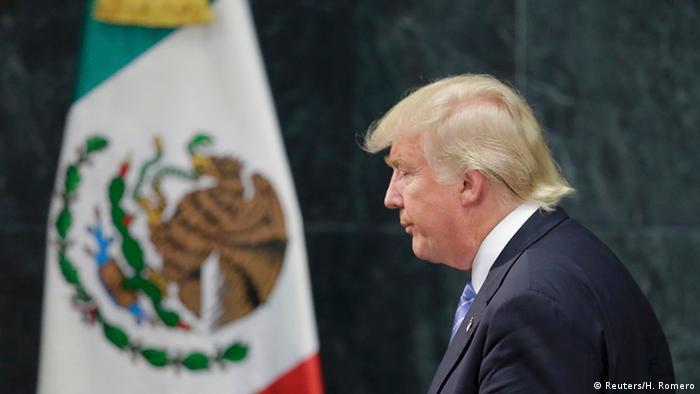 USA Mexiko Donald Trump Pressekonferenz Ende (Reuters/H. Romero)
