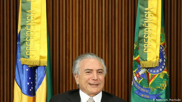 Brasilien neuer Präsident Michel Temer