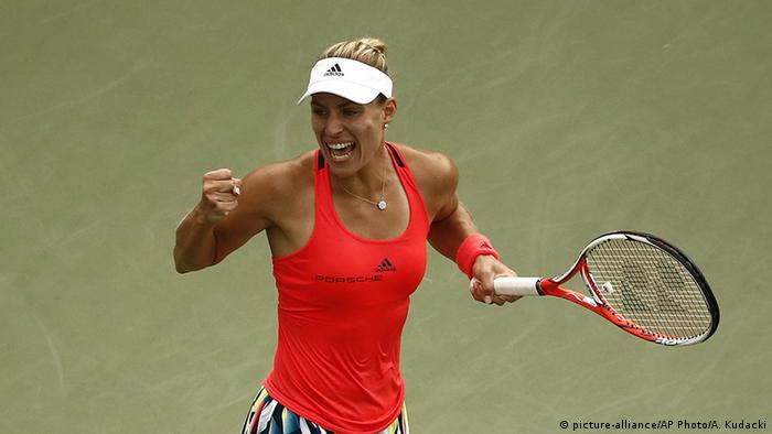USA Angelique Kerber Tennis US Open (picture-alliance/AP Photo/A. Kudacki)