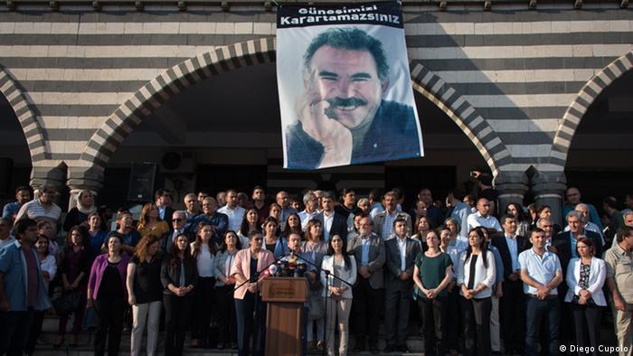 Image result for hunger strike against isolation of Ocalan
