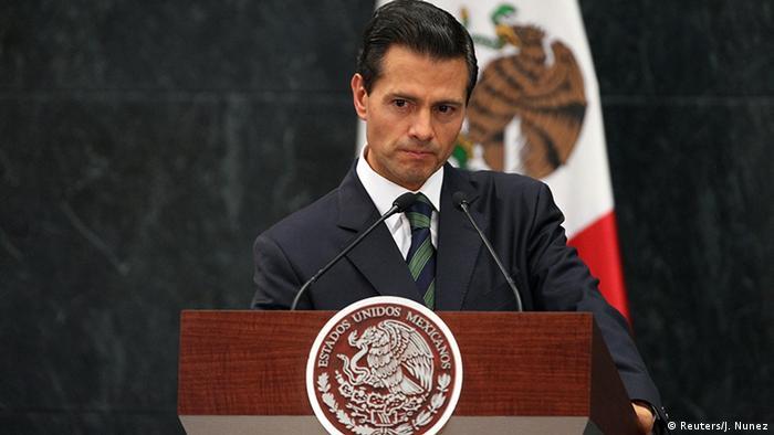 USA Mexiko Enrique Pena Nieto Rede (Reuters/J. Nunez)