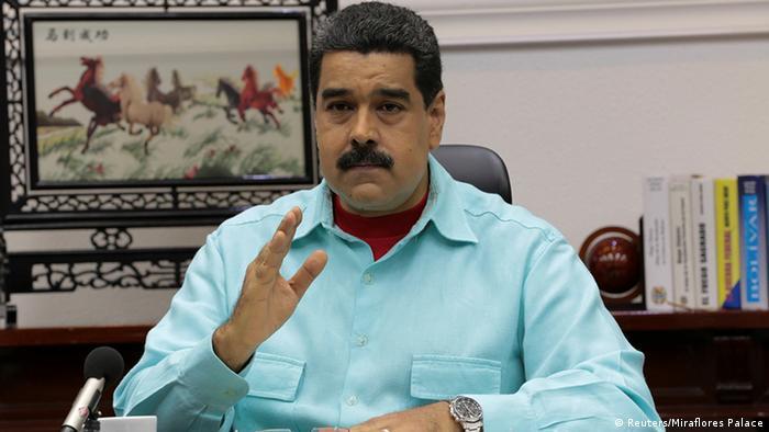 Venezuela Präsident Nicolas Maduro (Reuters/Miraflores Palace)