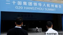 China G20 Gipfel in Hangzhou