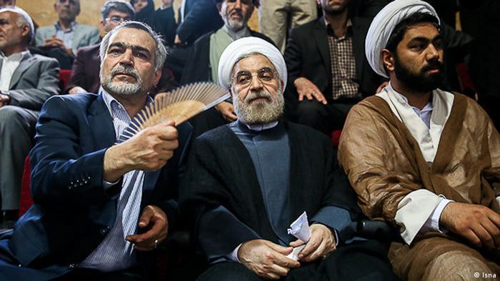 Hassan Rohani mit seinem Bruder Hossein Fereydoun