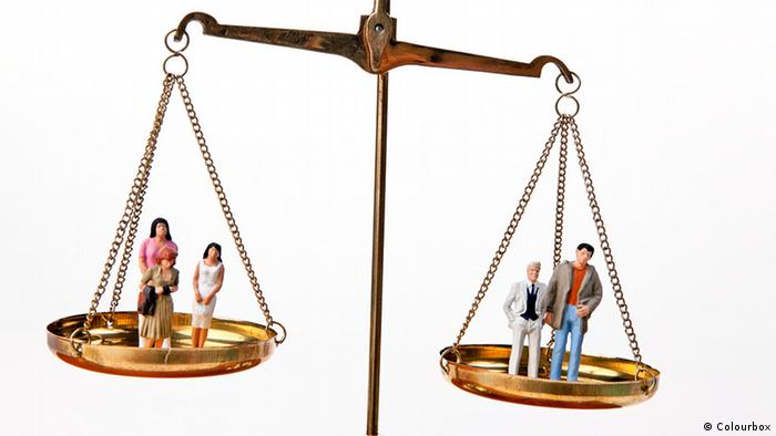 Symbolbild Gleichberechtigung (Colourbox)