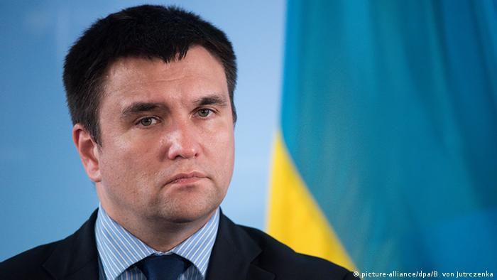 Павло Клімкін (на фото) - проти автономії для Донбасу