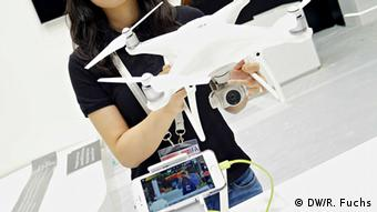 Deutschland IFA 2016 Drohne DJI Phantom 4