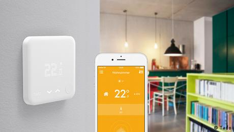 Deutschland IFA 2016 Smart Thermostat der Firma Tado