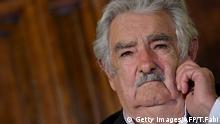 Uruguay ehemaliger Präsident Jose ''Pepe'' Mujica