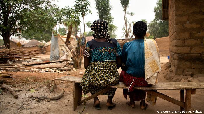 Boko Haram Opfer von Entführung Nigeria (picture-alliance/dpa/K.Palitza)