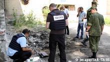 Ukraine OSZE Beobachter in Makajewka