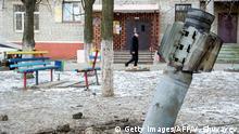 Ostukraine Donezk Region Kramatorsk Blindgänger