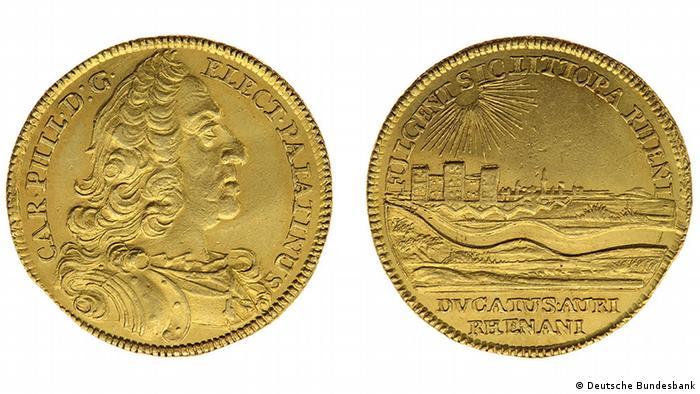 Gold coins, Copyright: Deutsche Bundesbank, Frankfurt am Main