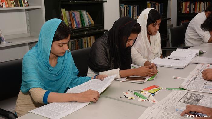 Indien - muslimische Studenten