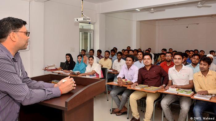 Indien - muslimische Studenten (DW/S. Waheed)
