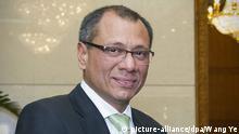 Ecuador Vizepräsident Jorge Glas