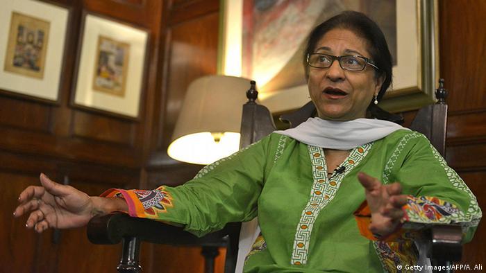 Pakistan Menschenrechtsaktivistin Asma Jahangir (Getty Images/AFP/A. Ali)