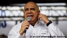 Venezuela Caracas Demonstration Jesus Torrealba