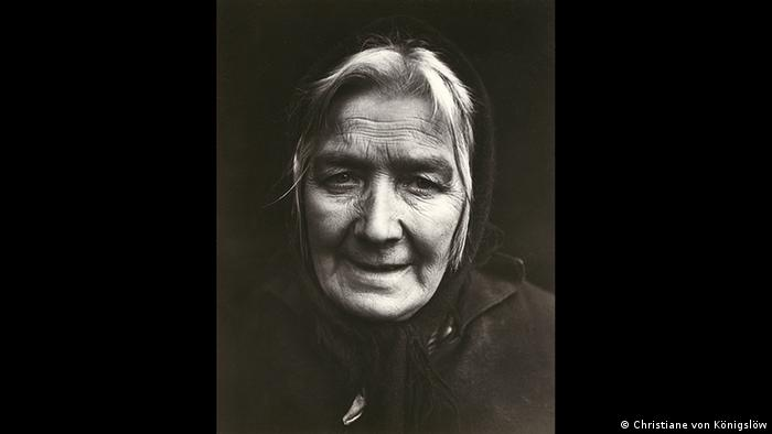 Portrait of an older lady by Annelise Kretschmer, Copyright: Käthe Kollwitz Museum Köln