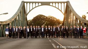 Deutschland OSZE-Konferenz Außenminister in Potsdam - Glienicker Brücke