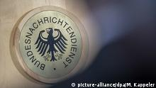 Das Siegel des Bundesnachrichtendienst (BND)