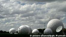 Bundesnachrichtendienst (BND) Radarkuppeln