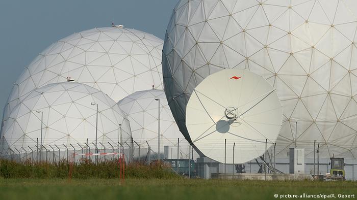 The BND's surveillance station at Bad Aibling