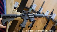 US-Waffenboom verdoppelt Gewinn von Smith & Wesson