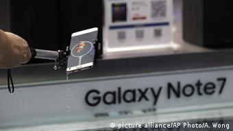 Samsung Galaxy Note 7 (picture alliance/AP Photo/A. Wong)