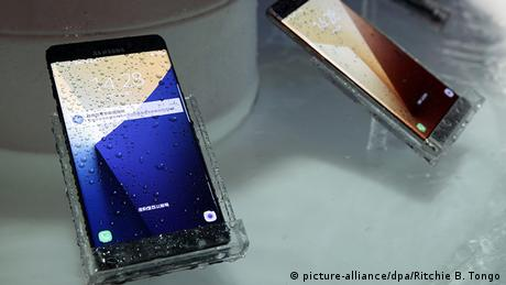 Samsung Galaxy Note 7 (picture-alliance/dpa/Ritchie B. Tongo)