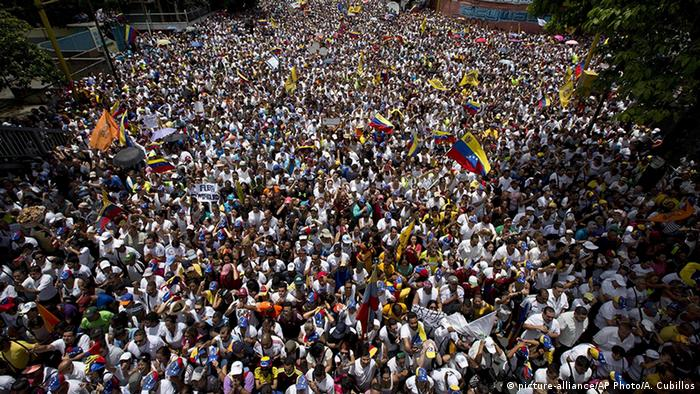 Venezuela Protest in Caracas