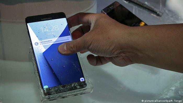 Samsung Galaxy Note 7 (picture-alliance/dpa/R. Tongo)