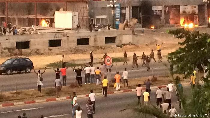 Gabun Libreville Ausschreitungen nach Wahlen