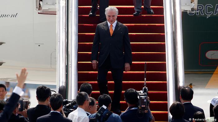 China Besuch brasilianischer Präsident Michel Temer