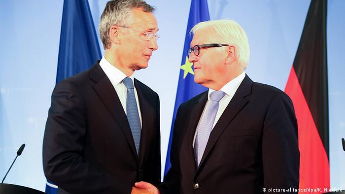 Deutschland Außenminister Steinmeier trifft NATO-Generalsekretär Stoltenberg