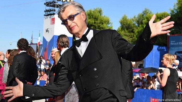 Wim Wenders at the Venice Film Festival (picture-alliance/dpa)