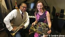 Sarah Willis trifft Wynton Marsalis in New York
