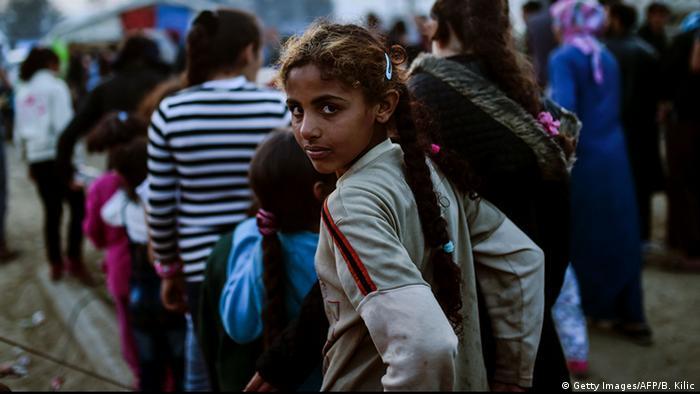 Несовершеннолетние мигранты без сопровождения в Идомени, Греция