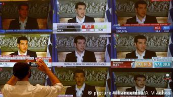 Griechenland Athen Vergabe von TV Lizenzen Symbolbild (picture-alliance/dpa/A. Vlachos)