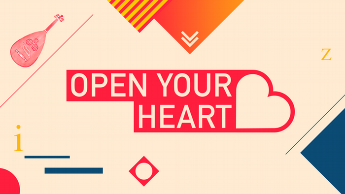Open your Heart Logo