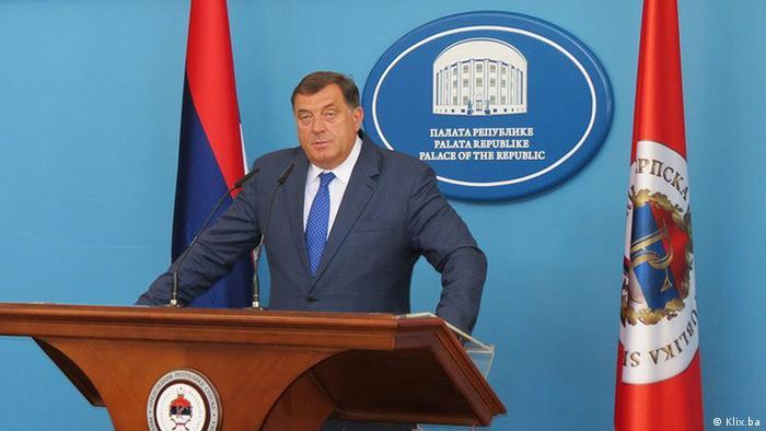 Bosnien und Herzegowina Banjaluka - Milorad Dodik Präsident der Republik Srpska
