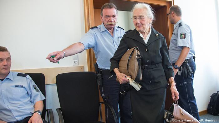 Урсула Хафербек в зале суда, 2 сентября 2016 года
