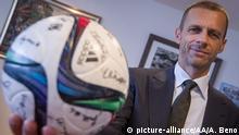 UEFA Präsident Kandidat Aleksandar Ceferin