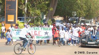 Afrika Proteste in Guinea-Bissau